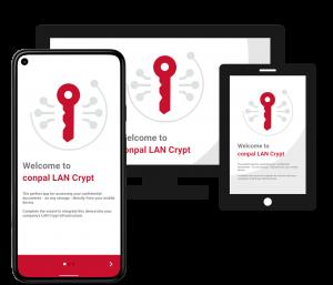 Welcome Screen Sophos SafeGuard Enterprise File Encryption Migration